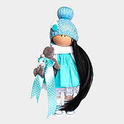 Куклы и игрушки handmade. Livemaster - original item Sewing kit doll Ksyusha. Handmade.