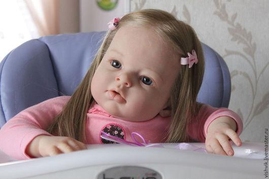 Куклы-младенцы и reborn ручной работы. Ярмарка Мастеров - ручная работа. Купить Аришенька. Handmade. Кукла реборн, генезис краски