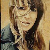 Картины и панно ручной работы. Ярмарка Мастеров - ручная работа Портрет на заказ по фотографии. Handmade.