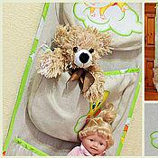 Для дома и интерьера ручной работы. Ярмарка Мастеров - ручная работа Органайзер, саше - кармашки для детской комнаты. Handmade.
