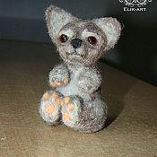 """Куклы и игрушки ручной работы. Ярмарка Мастеров - ручная работа Щенок """"Бач"""". Handmade."""