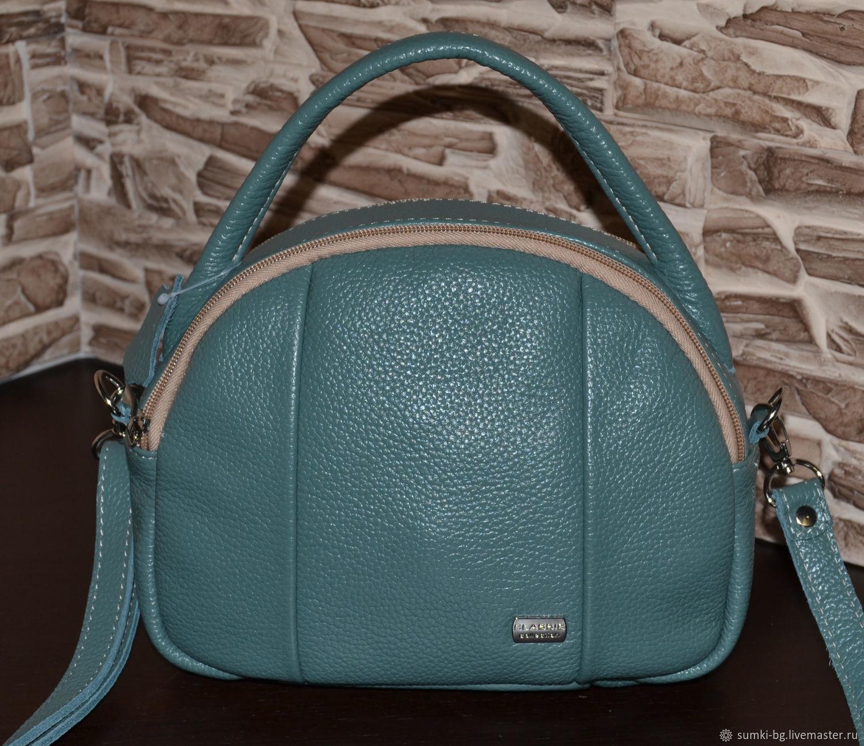 Leather bag women's Handbag genuine leather Model 145, Classic Bag, Bogorodsk,  Фото №1