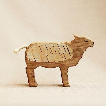 Деревянная игрушка - Овечка
