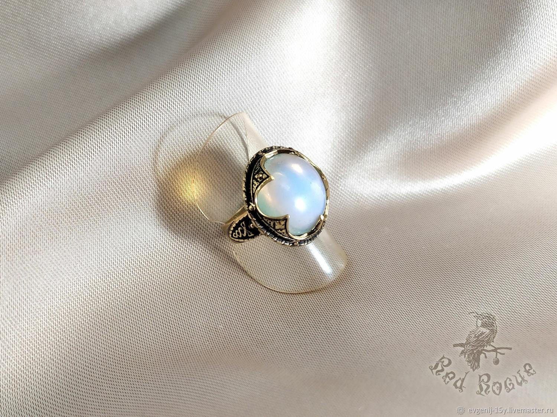"""Перстень """"Готланд"""" с лунным камнем, Кольца, Севастополь,  Фото №1"""