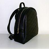 Сумки и аксессуары handmade. Livemaster - original item Backpack leather 4h. Handmade.
