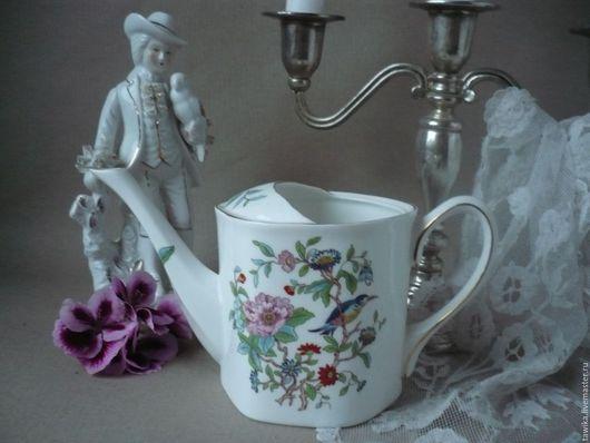 Винтажная посуда. Ярмарка Мастеров - ручная работа. Купить Леечка / ваза   винтаж AYNSLEY, фарфор, Англия. Handmade. Леечка