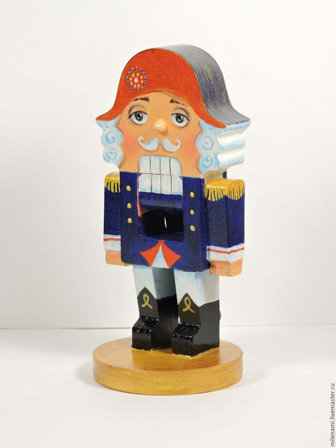 Nutcracker, Christmas wooden toy, hand-painted – shop online on ...