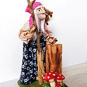 Куклы и игрушки handmade. Livemaster - original item Author`s doll BABA YAGA dolls to give. Handmade.