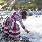 """Одежда ручной работы. Ярмарка Мастеров - ручная работа Пальто """" Ягодная фея"""". Handmade."""