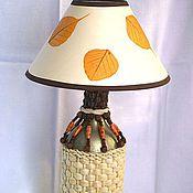 Для дома и интерьера ручной работы. Ярмарка Мастеров - ручная работа Лампа настольная Осенняя. Handmade.