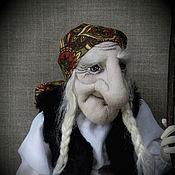 """Куклы и игрушки ручной работы. Ярмарка Мастеров - ручная работа """"Бабушка- Яга""""- авторская текстильная кукла. Handmade."""