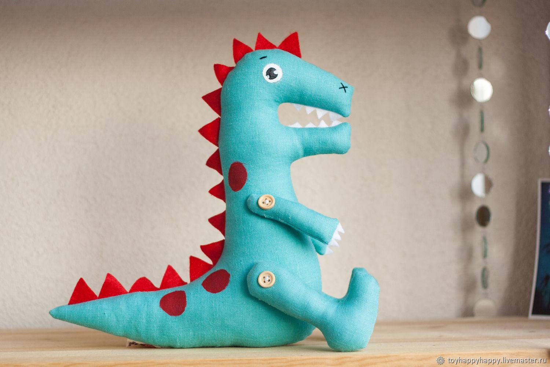 Stuffed dinosaur toys. T-Rex Rex Fiji, Stuffed Toys, St. Petersburg,  Фото №1