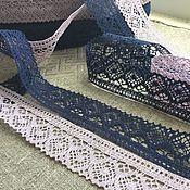Материалы для творчества handmade. Livemaster - original item Lace exquisite 100% linen