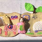 Куклы и игрушки ручной работы. Ярмарка Мастеров - ручная работа Домик для яблочной феи. Handmade.