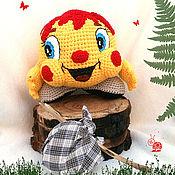 Куклы и игрушки ручной работы. Ярмарка Мастеров - ручная работа Колобок- Колобок, вязаная  игрушка. Handmade.