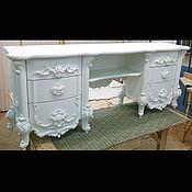 Столы ручной работы. Ярмарка Мастеров - ручная работа Стол из бука белый (№131). Handmade.