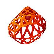 Для дома и интерьера handmade. Livemaster - original item Zaha LIGHT orange chandelier. Handmade.