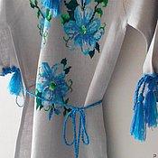Работы для детей, ручной работы. Ярмарка Мастеров - ручная работа Вышитое платье для девочки. Handmade.