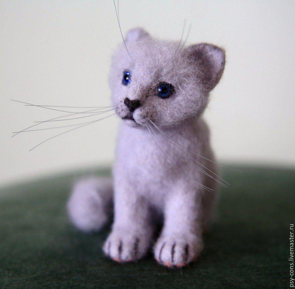 Войлочные котята фото