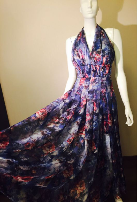 Платья ручной работы. Ярмарка Мастеров - ручная работа. Купить Платье в пол. Handmade. Платья, купить в москве, пошив спб