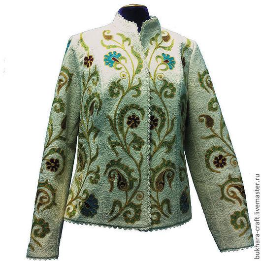 Пиджаки, жакеты ручной работы. Ярмарка Мастеров - ручная работа. Купить Жакет 15. Handmade. Жакет, жакет женский, осень