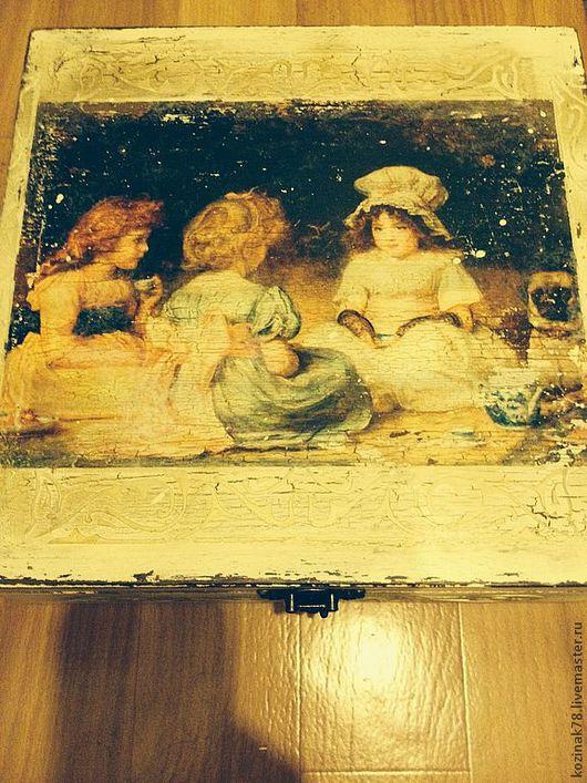 Кухня ручной работы. Ярмарка Мастеров - ручная работа. Купить Коробка для чайных пакетиков. Handmade. Коробка для чая, для дома и интерьера