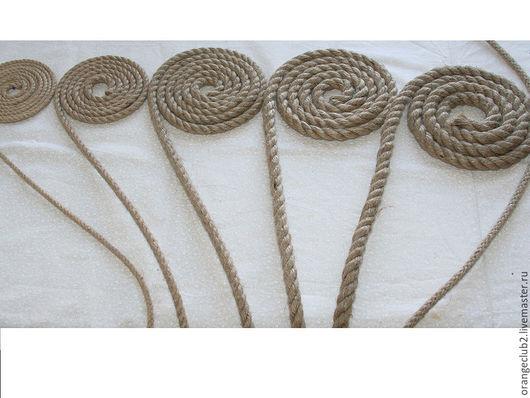 Другие виды рукоделия ручной работы. Ярмарка Мастеров - ручная работа. Купить Джутовый канат  5,7,10,12,15,8 мм. Handmade.