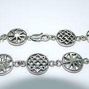 Русский стиль handmade. Livemaster - original item Bracelet amulet. Handmade.