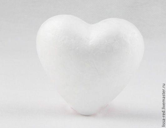 Другие виды рукоделия ручной работы. Ярмарка Мастеров - ручная работа. Купить Сердце  пенопластовое В НАЛИЧИИ. Handmade. Белый
