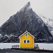 Картины ручной работы. Ярмарка Мастеров - ручная работа ЛОФОТЕНЫ, Норвегия. Handmade.