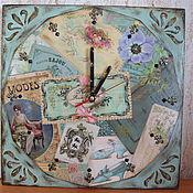 """Для дома и интерьера ручной работы. Ярмарка Мастеров - ручная работа часы""""дамский каприз"""". Handmade."""