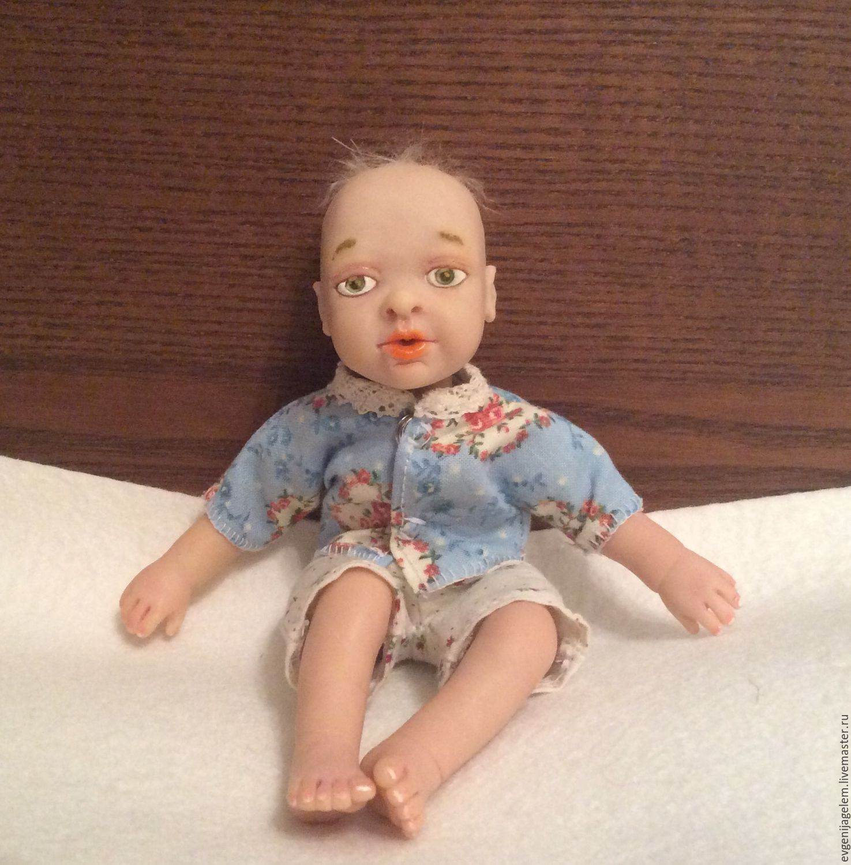 Baby Dolls u0026 Reborn Toys handmade. Livemaster - handmade. Buy Mini reborn  baby mark ...
