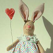 Куклы и игрушки ручной работы. Ярмарка Мастеров - ручная работа Зайка малышка. Handmade.