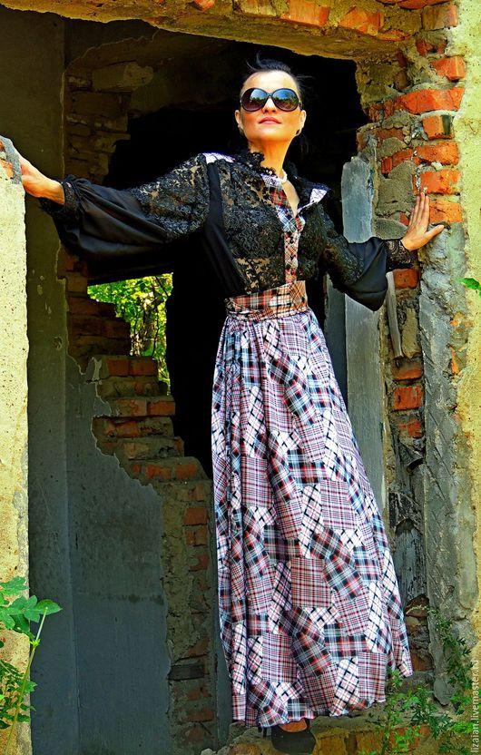 платье макси, платье длинное, платье в пол, платье в клетку, платье гипюровое, черное платье, платье из гипюра, платье с кружевом, платье нарядное, платье повседневное, одежда женская,