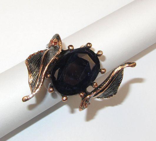 Кольца ручной работы. Ярмарка Мастеров - ручная работа. Купить Кольцо с иолитом серебряное. Handmade. Тёмно-синий, кольцо с камнем