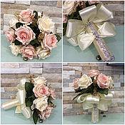 """Свадебный салон ручной работы. Ярмарка Мастеров - ручная работа Букет дублёр """"Розы"""". Handmade."""