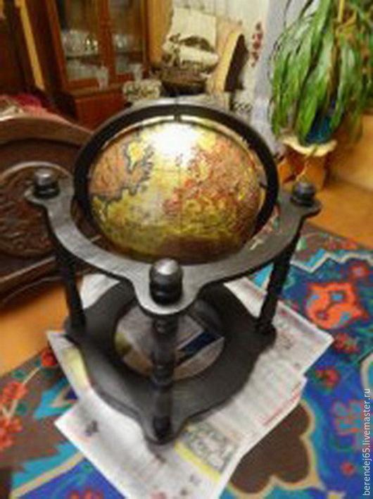 Персональные подарки ручной работы. Ярмарка Мастеров - ручная работа. Купить Глобус напольный. Handmade. Разноцветный, необычный подарок