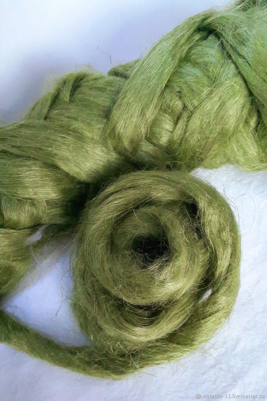 Волокна льна Италия Asparagus 10 гр, Волокна, Белореченск,  Фото №1