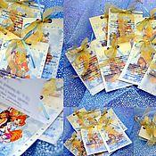 Пригласительные ручной работы. Ярмарка Мастеров - ручная работа Приглашения на Детский День Рождения. Handmade.