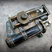 Сувениры и подарки handmade. Livemaster - original item Steampunk lighter with stash.. Handmade.