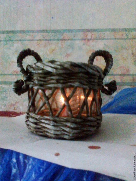 Освещение ручной работы. Ярмарка Мастеров - ручная работа. Купить подсвечник под плавающую свечку. Handmade. Комбинированный, подарок