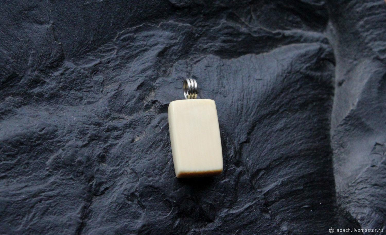 Rune Fehu  Money amulet made of mammoth Tusk  Profit, wealth – shop online  on Livemaster with shipping - IAQOHCOM   Kharkiv