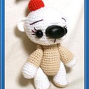 Куклы и игрушки ручной работы. Ярмарка Мастеров - ручная работа мишка Крем-брюле с вишенкой. Handmade.