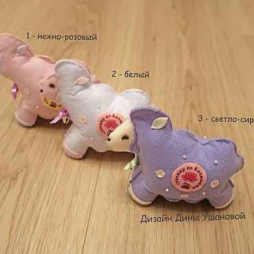 Куклы и игрушки ручной работы. Ярмарка Мастеров - ручная работа Овечки из фетра. Handmade.