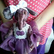 Куклы и игрушки ручной работы. Ярмарка Мастеров - ручная работа Слоненок-балерина. Handmade.