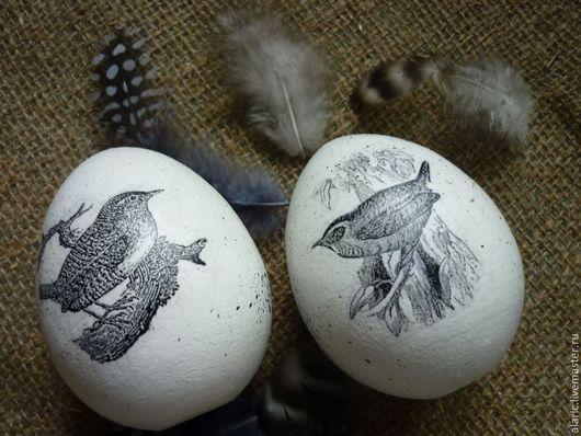 Подарки на Пасху ручной работы. Ярмарка Мастеров - ручная работа. Купить Яйцо пасхальное монохромный винтаж 2. Handmade.