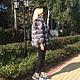 Верхняя одежда ручной работы. Куртка из финской чернобурки. Елена LORENZO одежда из меха и кожи. Ярмарка Мастеров. Полушубок из чернобурки