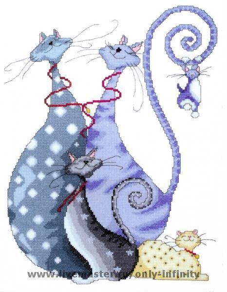 Юмор ручной работы. Ярмарка Мастеров - ручная работа. Купить Cat Pack. Handmade. Коты, юмор, мультяшки, картина в подарок