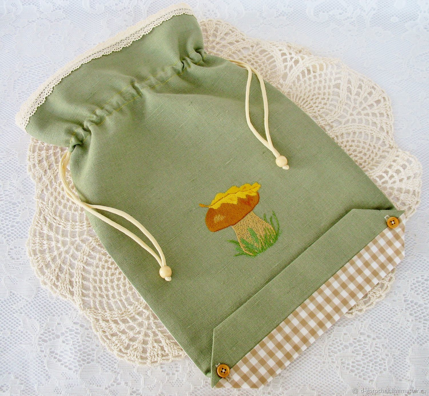 Bags for the kitchen with hand embroidery, Bags, Ekaterinburg,  Фото №1