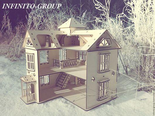Кукольный дом ручной работы. Ярмарка Мастеров - ручная работа. Купить Кукольный домик 2М. Handmade. Кукольный домик, подарок